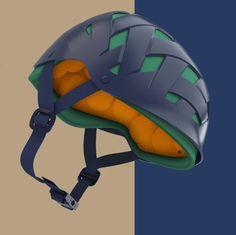 rockwell headgear / Dust helmet