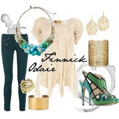 """Finnick Odair"" by karen-chan on Polyvore"