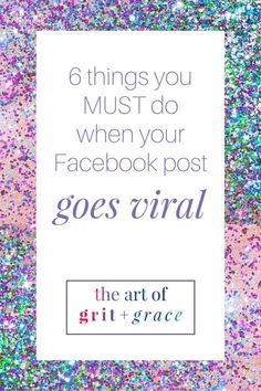 6 things to do when your facebook post goes viral | social media tips | facebook tips | small business tips