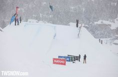 Damn look at that poke from Chase Guldemond.  PHOTO: Nick Hamilton   Mark McMorris and Spencer O'Brien win the 31st Burton US Open in Vail Colorado   TransWorld SNOWboarding Magazine