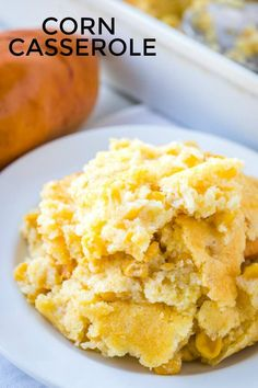 Corn Casserole - An Easy Perfect Side Dish!