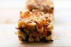 carmelized brown butter rice krispie treats by smitten, via Flickr
