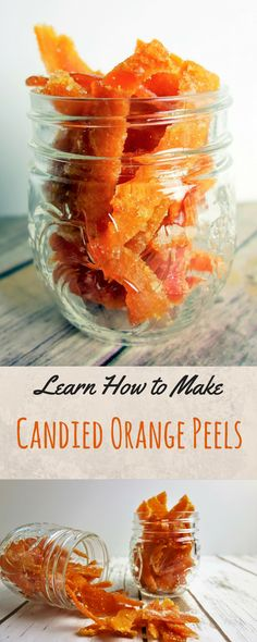 Learn how to make these awesome Candied Orange Peels for a delicious sweet treat!