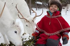 #Kajaani # Reindeer # Happy # child