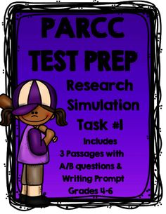 How to prepare students for parcc writing tasks