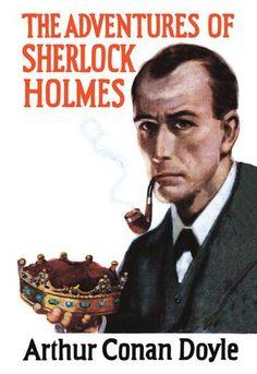 Buyenlarge Sherlock Holmes Mystery (book cover) by Erberto Carboni Vintage Advertisement Sherlock Holmes Book, Adventures Of Sherlock Holmes, Scottish Authors, Arthur Conan Doyle, Sir Arthur, Book Jacket, Comic Movies, Baker Street, Books