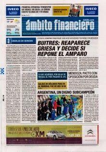 OpinionPublicaSantafesina(ops): diarios de la argentina de hoy 14 de julio