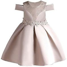 Embroidery Silk Princess Dress for Toddler Girl African Dresses For Kids, Gowns For Girls, Girls Dresses, Baby Girl Party Dresses, Toddler Girl Dresses, Baby Dress, Toddler Princess Dress, Princess Girl, Kids Gown