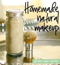 DIY Homemade Natural Translucent Powder. Grüne Tonerde, Speisestärke und Organisches Kokussnuss-Pulver