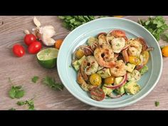 Seafood and Avocado Salad Recipe - Laura in the Kitchen - Internet Cooking Show Starring Laura Vitale