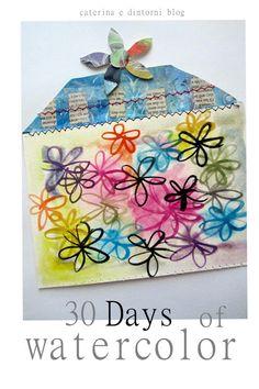 caterina e dintorni: 30 days of watercolor / twenty five