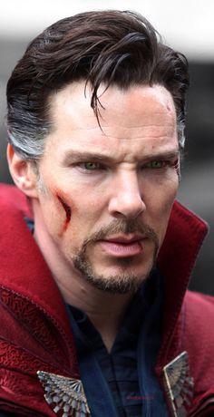 Benedict Cumberbatch as Doctor Strange...THOSE CHEEKBONES THOUGH