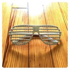 White party glasses White party glasses with Rhinestones Accessories Glasses