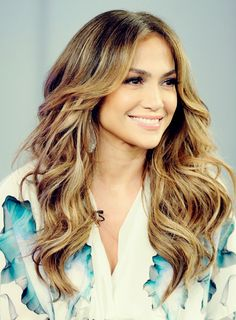 Jennifer Lopez.. one day my hair will be that long.