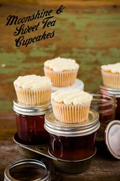 Moonshine and Sweet Tea Cupcakes | Cupcake Project