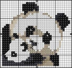 Panda with cub X-stitch chart Cross Stitch Cards, Cross Stitch Baby, Cross Stitch Animals, Cross Stitching, Cross Stitch Embroidery, Embroidery Patterns, Cross Stitch Designs, Cross Stitch Patterns, Motifs Animal