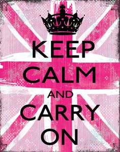Keep Calm And Carry On Prints by Louise Carey at AllPosters.com