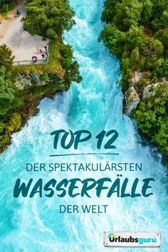 The 12 most spectacular waterfalls in the world Vacation guru - Discover with me the most spectacular waterfalls in the world! Whether in New Zealand, Croatia, Ice - Travel Alone, Asia Travel, Africa Destinations, Les Continents, Beach Family Photos, Les Cascades, Reisen In Europa, Camping Photography, Road Trip Hacks