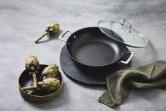Experience flawless release of foods and easy cleanup with the Toughened Non-Stick cookware range by Le Creuset. Le Creuset, Casserole, Buffet, Easy, Food, Roast, Tablewares, Cleaning, Essen