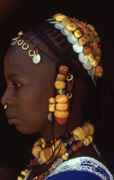 Africa | Fulani woman. Ivory Coast | ©Olivier Martel / #MIZUworld