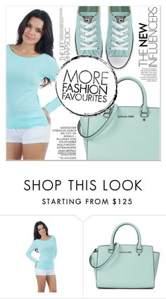 """""""# I/21 Miami Style"""" by lucky-1990 ❤ liked on Polyvore featuring Michael Kors and Converse"""