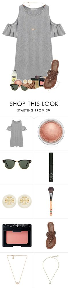 In Vail! by erinlmarkel ❤ liked on Polyvore featuring Chicnova Fashion, MAC Cosmetics, Ray-Ban, NARS Cosmetics, Tory Burch and Kendra Scott