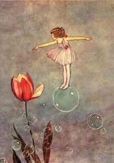 from Elves and Fairies, illustration by Ida Rentoul Outhwaite