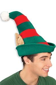 a2ecfd32aa9a9 Striped Elf Hat with Ears - 345516 Elf Hat With Ears