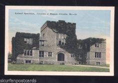 University of Missouri Tigers Columbia MO Basketball Stadium Vintage Postcard | eBay