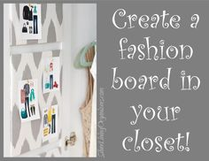 Create Your Own Fashion Board