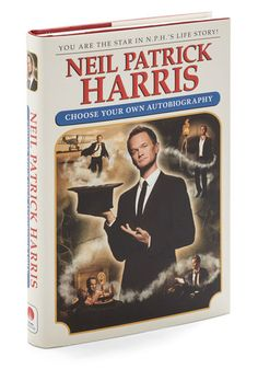Neil Patrick Harris: Choose Your Own Autobiography. If youve ever longed for your own celebrity autobiography, look no further than this amusingly quirky take on the genre by Neil Patrick Harris. #gold #prom #modcloth