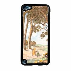 Vintage Winnie The Pooh Three Ipod Touch 5 Case