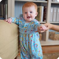Baby development from newborn to 12 month