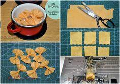 Tutorial gratuito: comidita de fieltro - macarrones. Free tutorial: felt food, macarons.