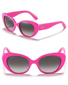 Kate Spade New York Rounded Cat Eye Sunglasses $128.00  Cute but def would need to buy knockoffs lol