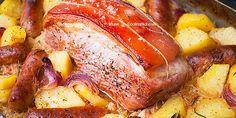 Peceno meso i krumpir u kiselom kupusu i vinu — Coolinarika