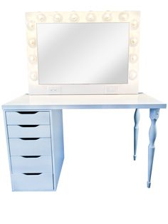 Ready to transform your beauty routine? Our Custom Vanity Mirror is just what you need to transform your daily hair and makeup routine from ordinary to extraord Hollywood Vanity Mirror, Custom Vanity, Beauty Room, Routine, Shop, Desktop, Furniture, Makeup, Board