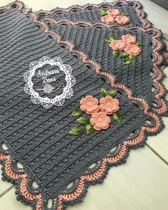 Crochet Carpet, Crochet Home Decor, Crochet Kitchen, Beautiful Crochet, Christmas 2019, Color Inspiration, Patches, Crochet Patterns, Crochet Hats