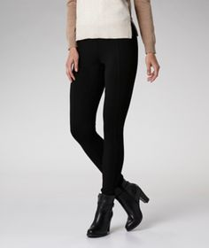 Comfortable and versatile, these Hanna High-Rise leggings by Denver Hayes are the perfect match for your favourite fall sweaters and tunics.   Mark's Work Wearhouse, Yorkton