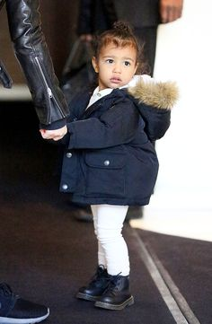 North West's Fuzzy Topknot - Vogue
