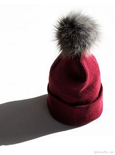 Gift Guide: In God We Trust, pom pom beanie, winter hat / Garance Doré
