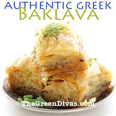 Green Diva Gina got a lot of requests for her Baklava recipe after her wonderful posts about honey bees and baklava. here's her authentic baklava recipe