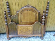 1920's Full Size Headboard and Foot Board w/ by TheThriftyBeeShop