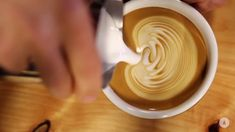This is the best latte art instruction I have ever found.  I show it to everyone I train.
