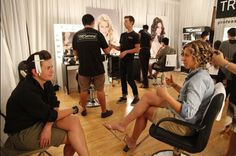 """The TRESemmé Stylist Team had a great time creating wedding looks for """"The Fashion Show: Ultimate Collection."""" #bridalbeauty #wedding #weddinghair #tresemme #hair #hairstyling"""