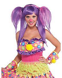 Berry Bubbles Clown Wig