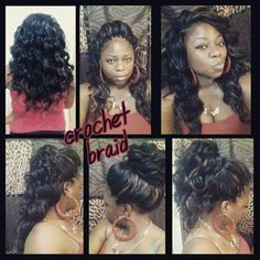 Crochet...Ocean Wave hair...Dope