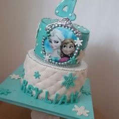 Frozen. Cake