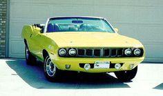 '71 Plymouth Barracuda I would prefer a 70 Hemi, but I guess a 71 would be ok <3 me a Cuda