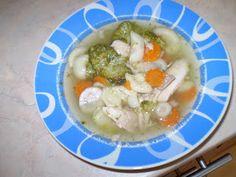 Ania mama Agnieszki: zupa brokułowa z makaronem (mama karmiąca)